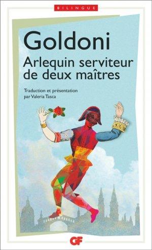 Arlequin serviteur de deux maîtres - Flammarion - 9782081387737 -