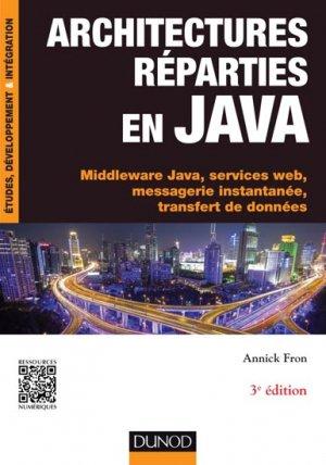 Architectures réparties en Java - dunod - 9782100738700