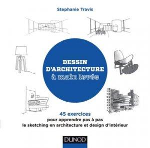 Architecture et design d 39 int rieur dessin main lev e for Architecture et design d interieur