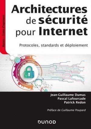 Architectures de sécurité pour internet - dunod - 9782100809707 -