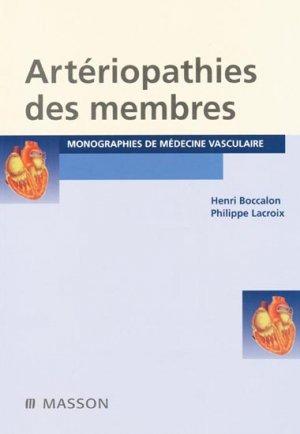 Artériopathies des membres - elsevier / masson - 9782294003073 -