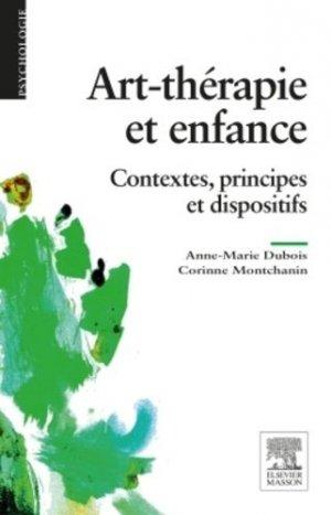 Art-thérapie et enfance - elsevier / masson - 9782294743931 - majbook ème édition, majbook 1ère édition, livre ecn major, livre ecn, fiche ecn