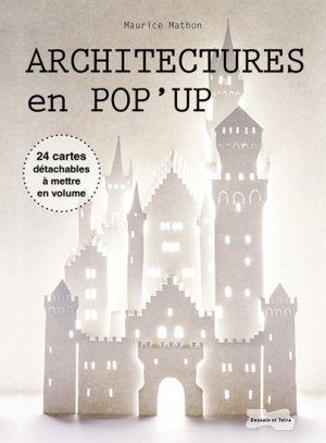 Architecture en pop-up - dessain et tolra - 9782295002303 -