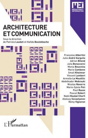 Architecture et communication - l'harmattan - 9782343162089 -