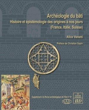 Archéologie du bâti - Editions Universitaires de Dijon - 9782364413870 -