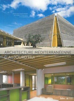 Architecture Méditerranéenne d'aujourd'hui - museo  - 9782373750157 -