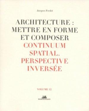 Architecture : mettre en forme et composer - de la villette - 9782375560174 -