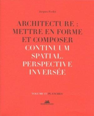 Architecture : mettre en forme et composer - de la villette - 9782375560181 -