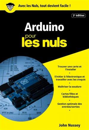 Arduino pour les nuls poche - first - 9782412025802 -