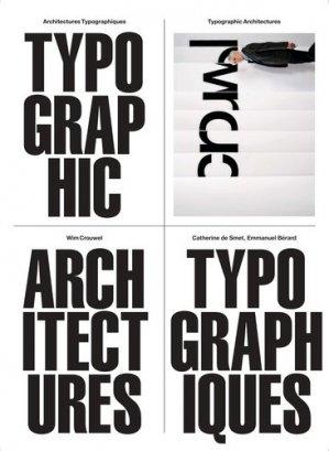 Architectures typographiques - B42 - 9782490077472 -