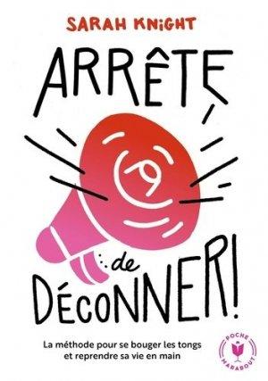 Arrête de déconner - marabout - 9782501141161