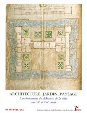 Architecture, jardin, paysage - picard - 9782708405691 -