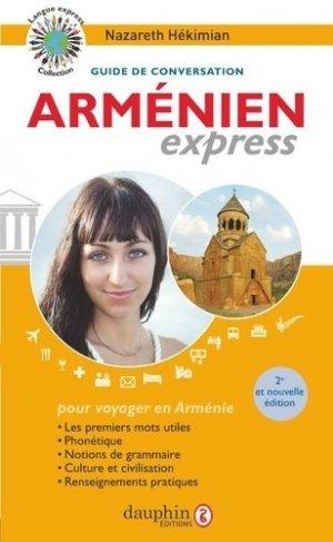 Arménien express - dauphin - 9782716317252 -