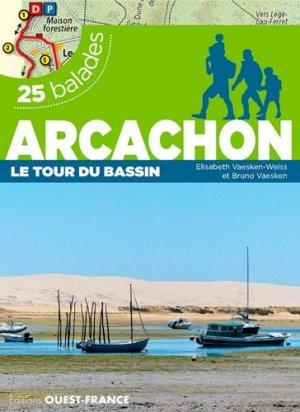 Arcachon, le tour du bassin - 25 balades - ouest-france - 9782737370427 -