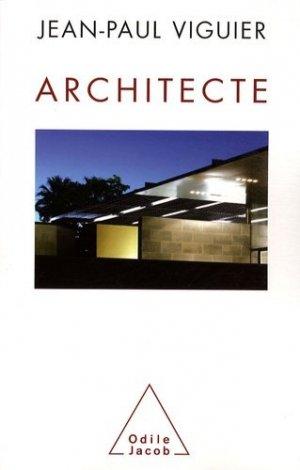 Architecte - odile jacob - 9782738123046 -