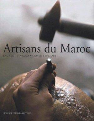 Artisans du Maroc - actes sud  - 9782742734757 -