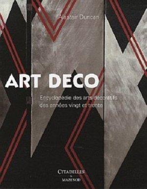 Art Deco - citadelles et mazenod - 9782850883019 -
