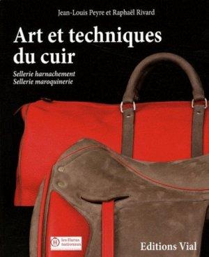 Art et techniques du cuir - vial - 9782851011381 -
