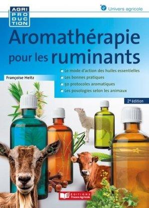 Aromathérapie pour les ruminants - france agricole - 9782855576046 -