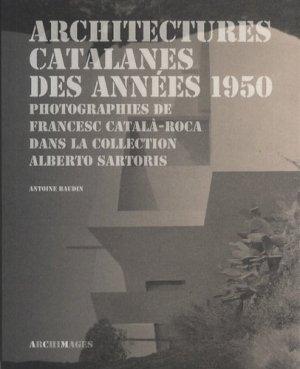Architectures catalanes des années 1950 - presses polytechniques et universitaires romandes - 9782889150199 -