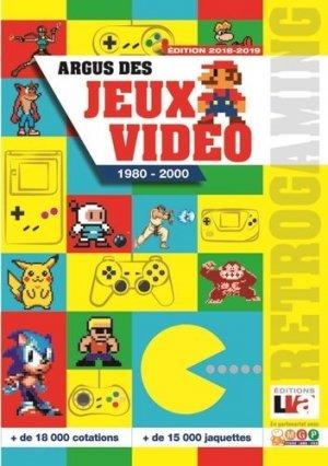 Argus des jeux vidéeo de 1980 à 2000 - lva (la vie de l'auto) - 9782905171870 -