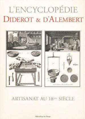 Artisanat au XVIIIème siècle - bibliothèque de l'image - 9782914239745 -