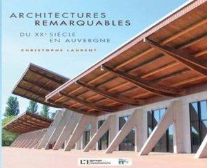 Architectures remarquables du XXe siècle en Auvergne - de la flandonniere - 9782918098973 -