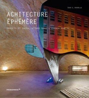 Architecture éphémère - Promopress - 9788417412616 -