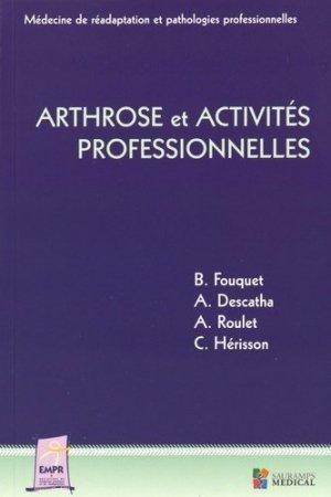Arthrose et activités professionnelles - sauramps medical - 9791030300536