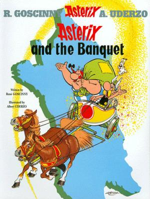 ASTERIX AND THE BANQUET  - ORION - 9780752866093 -
