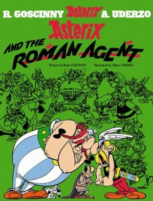 ASTERIX AND THE ROMANAGENT  - ORION - 9780752866338 -