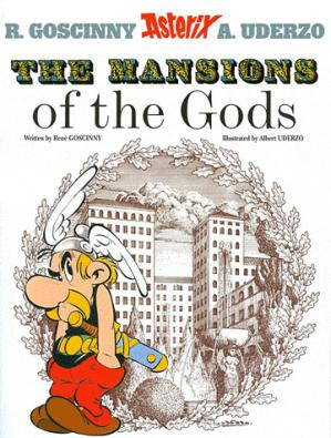 ASTERIX THE MANSIONS OF THE GODS  - ORION - 9780752866390 -