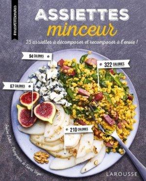 Assiettes minceur - larousse - 9782035934116 -