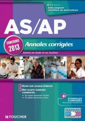 AS/AP Annales corrigées - foucher - 9782216122462 -