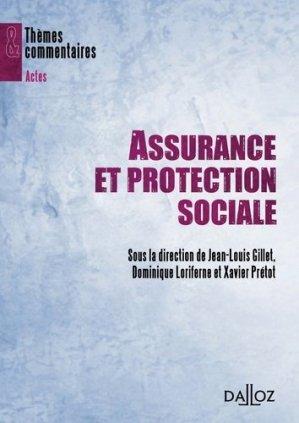 Assurance et protection sociale - dalloz - 9782247105281 -