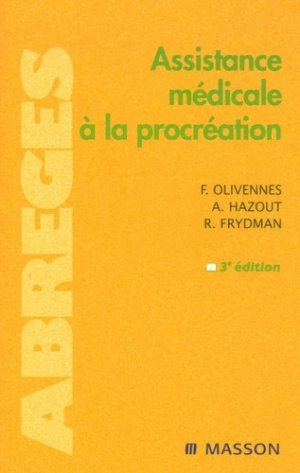 Assistance médicale à la procréation - elsevier / masson - 9782294019869 -