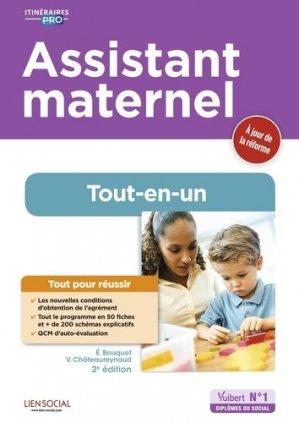 Assistant maternel Tout-en-un - vuibert - 9782311206869 -