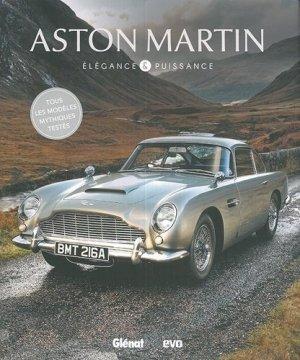 Aston Martin, élégance et puissance - glenat - 9782344031575 -