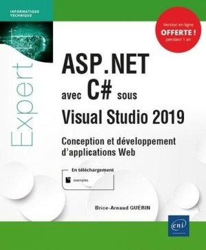 ASP.NET avec C# sous Visual Studio 2019 - eni - 9782409025419 -