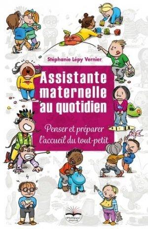 Assistante maternelle au quotidien - philippe duval - 9782490737048 -
