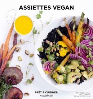 Assiettes vegan - Marabout - 9782501100335 -