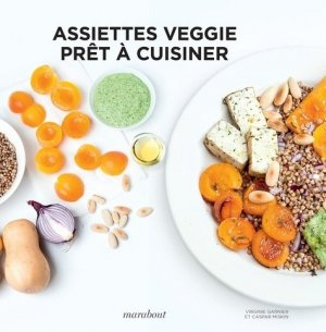 Assiettes veggie - marabout - 9782501149846 -