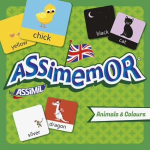Assimemor Animals and Colours - Animaux et Couleurs - assimil - 9782700590326 -