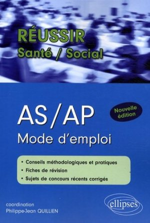 AS / AP Mode d'emploi - ellipses - 9782729840631 -