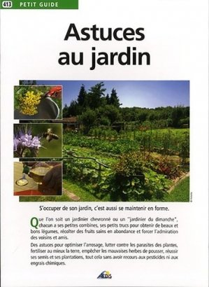 Astuces au jardin - aedis - 9782842598747
