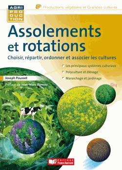 Assolements et rotations - france agricole - 9782855573434 -