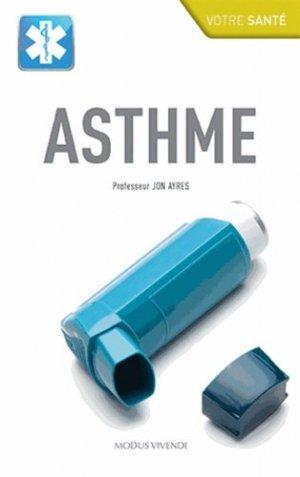 Asthme - modus vivendi (canada) - 9782895238317 -