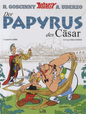 ASTERIX  DER PAYRUS DES CASAR - egmont allemagne - 9783770438907 -