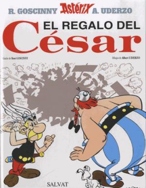 ASTERIX  EL REGALO DEL CESAR  - SALVAT - 9788434567399 -