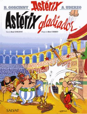 ASTERIX GLADIATOR  - SALVAT - 9788469602515 -